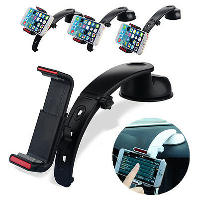 360° Universal Car Dashboard Mount Holder Stand Cradle For Mobile Phone GPS Mp5