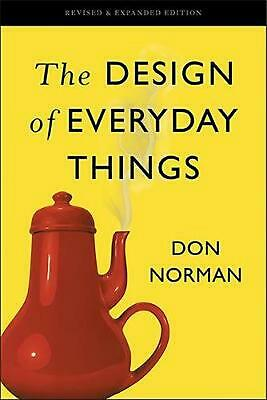 The Design of Everyday Things: Revised and Expanded Edition by Don Norman (Engli