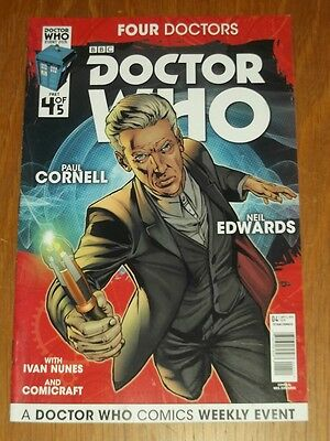 Doctor Who Event 2015 Four Doctors #4 Cover A Titan Comics Nm (9.4)