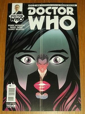 Doctor Who Twelfth Doctor #13 Cover A Titan Comics November 2015 Nm (9.4)