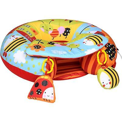 Red Kite Baby Child Inflatable Play Ring Seat With Play Tray Activity Playnest