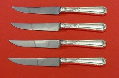 Louis XIV by Towle Sterling Silver Steak Knife Set 4pc HHWS  Custom Made 8 1/2""