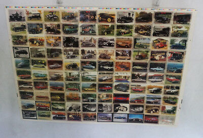 1992 Collect-A-Card  Chevy Set Uncut Sheet (100 Cards)