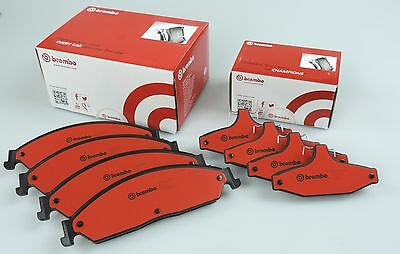 genuine BREMBO Front & Rear brake pads for FORD FALCON BA BF FG XR6 XR8