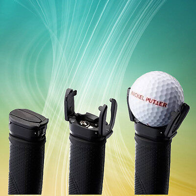 Golf Ball Back Saver Putter Grip Retriever Put On Grabber Claw Pick Up Tool
