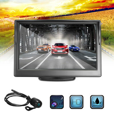 "4.3"" TFT LCD Car Rearview Backup Color Monitor Screen Reverse Kit for Camera DVD"
