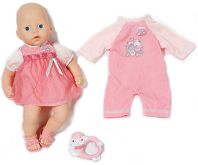 Zapf Creation My First Baby Annabell Puppe mit Rosen-Set