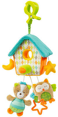 Baby Fehn Sleeping Forest Mini Musik Mobile Haus