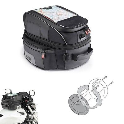 TANK BAG TANKLOCK X 25LT.GIVI XS306 + BF13 FLANGE BMW R1200 GS Adventure 2013