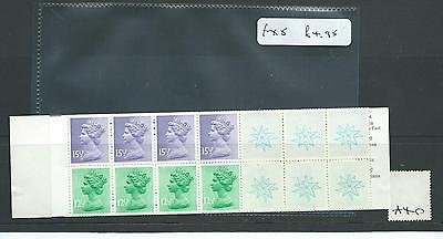 GB - STAMP BOOKLETS  - £2.50 - FX5 - CHRISTMAS 1982 -  1 booklet
