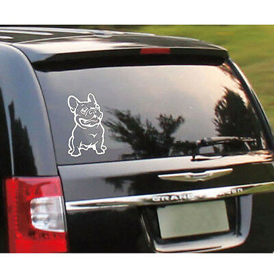 Strong Adhesive 3d Stickers French Bulldog Dog Car Sticker Vinyl Cars Decal Hot