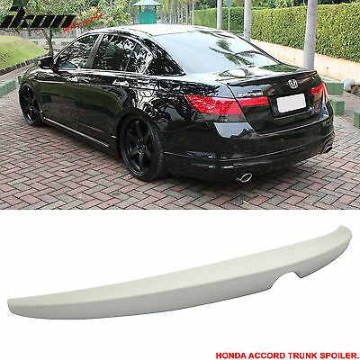 08-12 Honda Accord 4Door OE Style Trunk Spoiler Unpainted - ABS