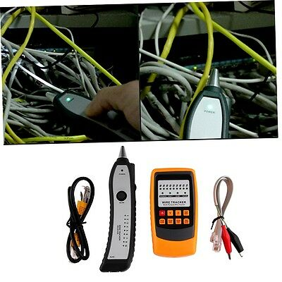 Cable Tester Tracker Phone Line Network Finder RJ11 RJ45 Wire Tracer SQ