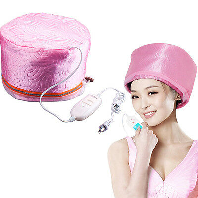 DIY Electric Heating Steam Hair Cap Hot Oil Hair Styling Beauty Care Treatment