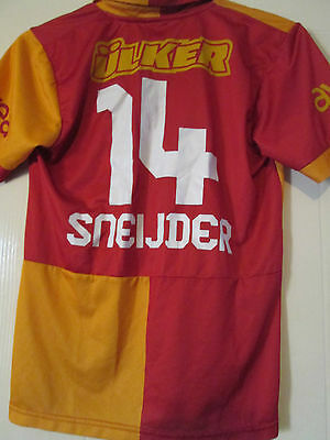 Galatasaray 2011-2012 Home Sneijder Football Shirt Size 176cm /39875