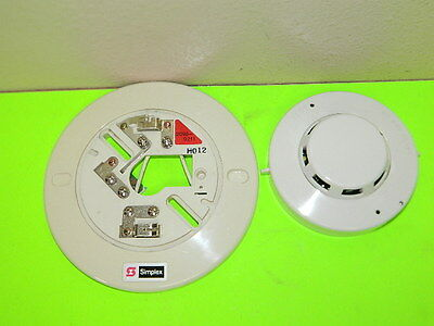 Simplex 2098-9201 Smoke Detector With 2098-9211 Base (50+ Aval) Ship Same/next