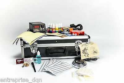 Kit de tatouage n°4  complet 2 machines 10wr garanti 1 ans