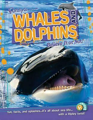 Whales and Dolphins by Camilla de La Bedoyere (English) Hardcover Book Free Ship