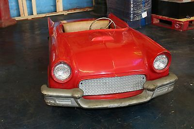 1957 Ford Thunderbird Powercar Kiddie Ride Car in Original Condition Electric