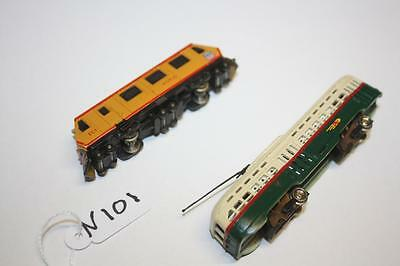 n gauge x2 locos one runs other no nothing 101