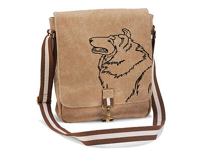 Canvas Messenger Hunderasse: Collie