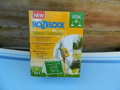 Hozelock 2212 Sensor Controller. Automatically waters at sunrise and sunset.
