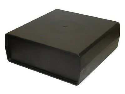 Large Project Box Enclosure Case in Black or Grey or Ventilation Slots Type KE4