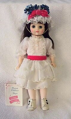 "VINTAGE MADAME ALEXANDER DEGAS GIRL #1575 IN BOX 14"" Tag Collectible Doll #2"