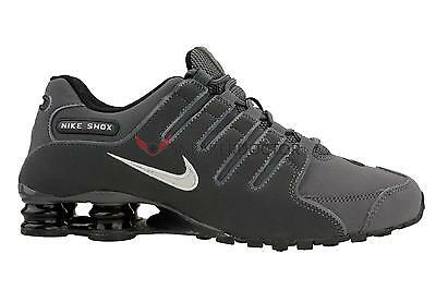 watch 6eb96 56187 NEW NIKE MENS Shox NZ Running Shoes Dark Grey/Anthracite/Iron Ore All Sizes