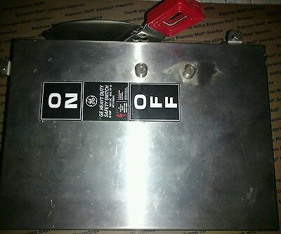 GE THN3361SS 30A 600V 3pole Nema 4x Stainless Steel NF