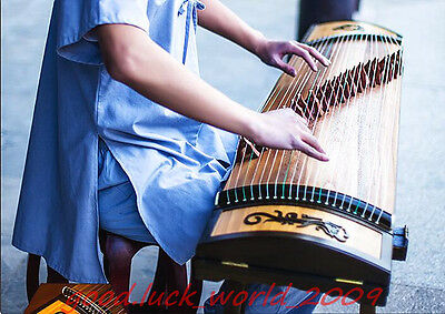 "64""Traditional Chinese musical instrument Chinese Zither Professional Guzheng"
