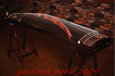 "64""Red Sandalwood Traditional Chinese musical instrument Chinese Zither Guzheng"