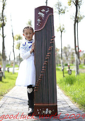 "Boutique 64""Red Sandalwood Traditional Chinese musical instrument Chinese Zither"