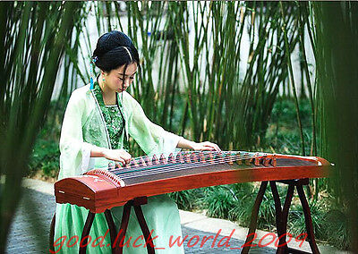 Boutique Handmade Carving Red Sandalwood Traditional Chinese Musical Instrument