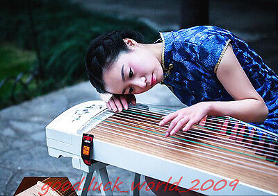 """64""""Red Sandalwood Traditional Chinese musical instrument Chinese Zither #1580"""