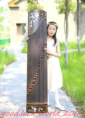 """49""""Red Sandalwood Traditional Chinese Musical instrument Chinese Zithe #1599"""