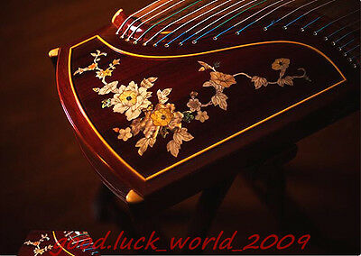 """Top Quality 64""""Red Sandalwood Traditional Chinese musical instrument Zither #518"""