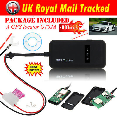 Realtime GPS GPRS GSM Tracker For Car/Vehicle/Motorcycle Tracking Device Spy UK