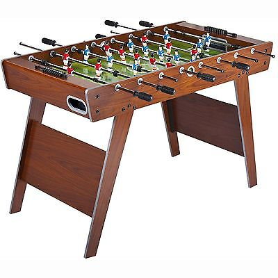 LEOMARK WOODEN FOOTBALL TABLE - 4ft - NEW FUSSBALL