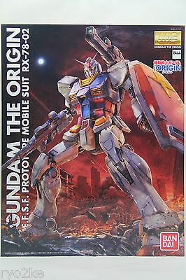Bandai MG 1/100 Gundam RX-78-02 The Origin Model