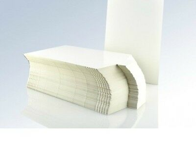 Shaped Shirt Packaging Boards, White Cardboard, 240Mm X 340Mm, Choose Quantity