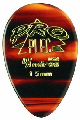 D'Andrea Pro-Plec 310 LARGE ROUND TEARDROP GUITAR PICKS MADE IN THE USA 12 PICKS