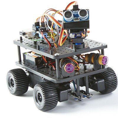 INITIO. Raspberry Pi Controlled Robot. Scratch and Python Compatible Robot. New
