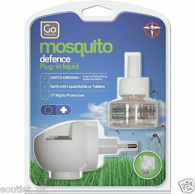 Go Travel Mosqui-Go Duo European/India/Middle East Plug-in Mosquito Repellent