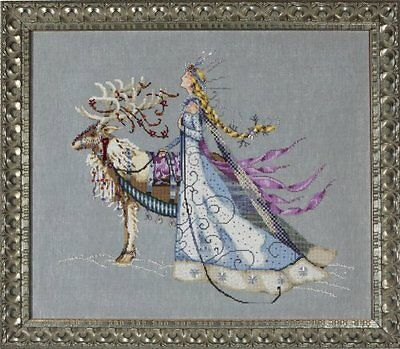 Mirabilia Designs - The Snow Queen Cross Stitch Chart Pack (Md143)