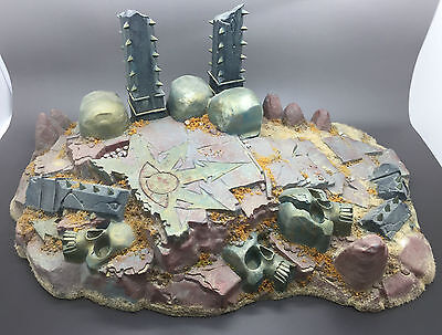 Warhammer Chaos Shrine Temple Of Skulls Scenery Terrain Painted Frostgrave