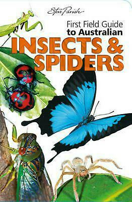 First Field Insects and Spiders by Paperback Book