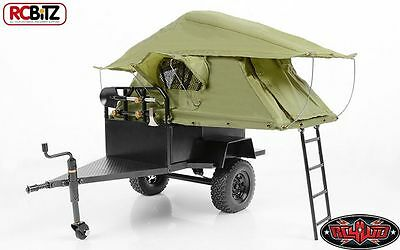 RC4WD Bivouac 1/10 M.O.A.B Camping Trailer AMAZING DETAIL with Tent Z-H0007 rc