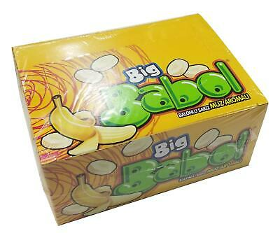 Big Babol Bubble Gum - Mixed Fruits Flavour (1 Package 80 Pieces)