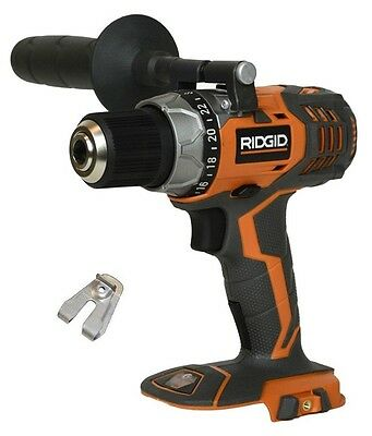"""New Ridgid Fuego 18V 18 Volt 1/2"""" Compact Drill Driver R86008 (Tool Only)"""